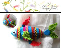 Colourful fish, 30 cms.