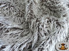 Curly 2 Tone Faux Fur by the yard from Fabric Empire