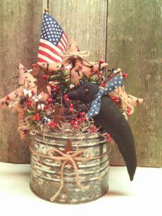 Primitive Americana Arrangement Black Crow