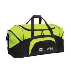 10GYM Duffel Bag $29.99 Lime/Black #youcandoit http://10gym.com/shop