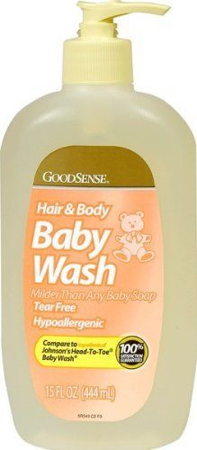 Good Sense Mild Baby Wash Case Pack 12 Good Sense Mild Baby Wash Case Pack 12 by Good Sense. $72.00. Please refer to SKU# ATR25073913 when you inquire.. Shipping Weight: 13.80 lbs. Picture may wrongfully represent. Please read title and description thoroughly.. Brand Name: Good Sense Mfg#: 966915. This product may be prohibited inbound shipment to your destination.. Good Sense Mild Baby Wash.15 oz..Compare to J Head To Toe..Proudly made in the USA. Case Pack 12 .Please...