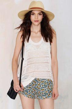 Petal Rebel Crepe Shorts | Shop Clothes at Nasty Gal!