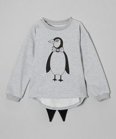 This Heather Penguin Tee - Toddler & Kids by Leighton Alexander is perfect! #zulilyfinds