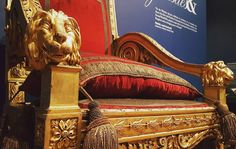 View the astonishing detail on Queen Victoria's throne. Lion heads sit on the arm of the the throne proudly awaiting royalty to be seated. See it for yourself with our #2for1 offer - http://ift.tt/2tnVVs8  #BattlesAndDynasties #Throne #Symbols #Royalty #Decoration #Precision #Stories #History #Lincolnshire #Collectionusher
