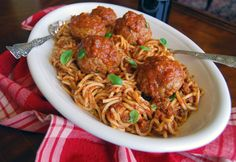 Meatballs meatballs meatballs...these are some of the most, tender, flavorful, totally delicious meatballs I've ever had. I'm talking either home cooked or Italian restaurant, the BEST. To top it off they're baked not fried! Winner Winner Meatball dinner!!!