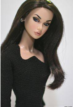 poppyparker by bongdari_spaceman Barbie Hair, Barbie Clothes, Fashion Royalty Dolls, Fashion Dolls, Barbie Celebrity, Barbies Pics, Poppy Doll, Glamour Dolls, Beautiful Barbie Dolls