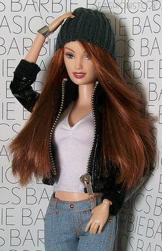 Drew in Barbie Basics - Michele Primel-Tunstall Drew in Barbie Basics Drew in Barbie Basics by fashi Barbie Life, Barbie Dream, Barbie World, Realistic Barbie, Barbie Basics, Barbie Fashionista Dolls, Beautiful Barbie Dolls, Barbie Collector, Barbie Friends