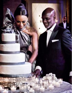 Cynthia Bailey & Peter Thomas. Romantic candles and wedding ideas, get inspired at www.scentedcandleshop.com.