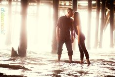 Mindy & Neil's Engagement Session | Santa Monica and Venice Beach, CA