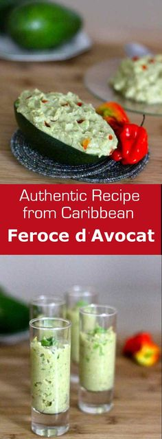 Feroce d'Avocat is a traditional French West Indian specialty made from salt cod, avocado and cassava. #caribbean #appetizer #westindies #glutenfree #196flavors