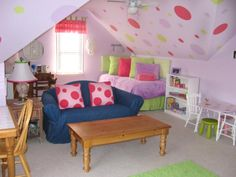 Browse through these HGTV photos of girls' playrooms to get ideas on decorating…