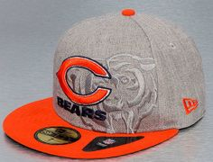 Chicago Bears Team Screening 59Fifty Fitted Cap By NEW ERA x NFL