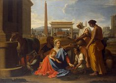 Holy Family in Egypt, 1655-1657;   The State Hermitage Museum,   St. Petersburg, Russia