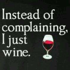 A wino way of life!