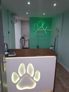 Dog Grooming Shop, Dog Grooming Salons, Dog Grooming Business, Pet Spa, Dog Branding, Vet Clinics, Daycare Ideas, Salon Ideas, Pet Stuff