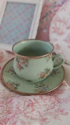 MacKenzie-Childs Cup and Saucer