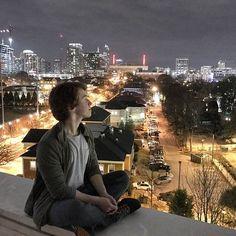 #Atlanta #Rooftop #night #ginger #chillin #weatherwaslovelytoday #city