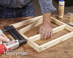 Build the upper tray. Two-Tier Drawer Spice Rack: http://www.familyhandyman.com/kitchen/storage/two-tier-drawer-spice-rack/view-all