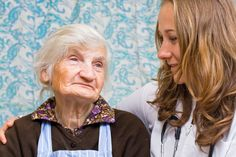 Picture of Old woman tells a story to the young doctor stock photo, images and stock photography. Old Women, Stock Photos, Paragraph, Pictures, Nursing, Inspiration, Image, Washington, Photos