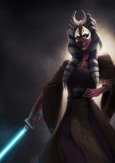Master Jedi Shaak Ti by ~thefenrir on deviantART