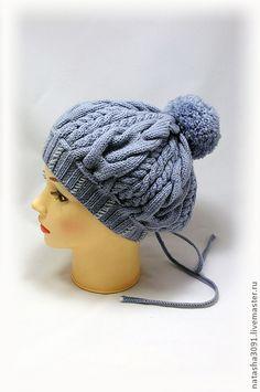 """Шапка-берет """"Арановая дымка"""" - шапка,шапка вязаная,шапка женская,вязаная шапка"""