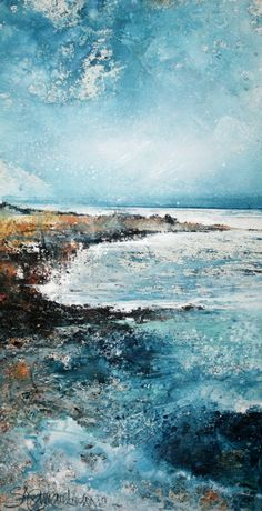 'The Tide Pulls Out' by Stewart Edmondson 31x59cm mixed media £1050 http://www.dart-gallery.com/gallery_detail.asp?id=2426