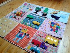 Выдумщица: Развивающий коврик для малыша!