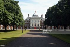 File photo of the royal Huis ten Bosch Palace. Prince Claus of the Netherlands, husband to Dutch Queen Beatrix had died in The Hague, The Netherlands, October 6, 2002. The prince died from complications of pneunomia and Parkinson's disease and the funeral is expected to be October 16 (Photo by Michel Porro/Getty Images) .