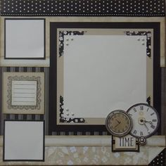 "by Sherri Tozzi - using Silhouette paper - ""You only LIVE once"" layout - right page"