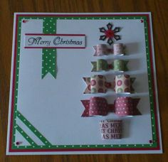 Craftwork Cards bows.
