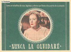 Nunca la Olvidaré - Programa de Cine - Irene Dunne - Barbara Bel Geddes - Oscar Homolka Barbara Bel Geddes, Irene Dunne, Books, Movies, Movie Posters, Art, Old Books, Brochures, Forget