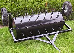 Aerating Lawns: Cheap Lawn Aeration: Make a Lawn Aerator