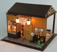 Hey, I found this really awesome Etsy listing at https://www.etsy.com/listing/209707917/miniature-dollhouse-diy-kit-sakura-sushi