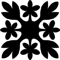 Hawaiian Quilt Tile 5
