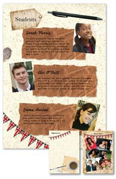Yearbook page ideas - What we did to celebrate Jubilee