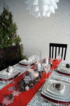 Poniendo la mesa: Cena de Navidad | Casa Haus by murtsss
