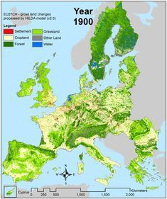 Watch: How Europe is greener now than 100 years ago - The Washington Post