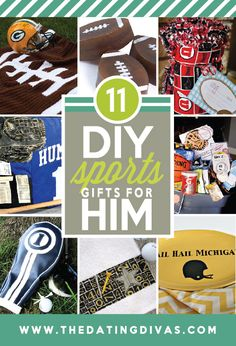 Sporty ideas for gifts. Love it. www.TheDatingDivas.com #christmasgifts #giftsforhim