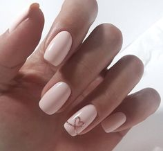 Pretty, but I think I would have the ribbon going throughout the rest of the nails