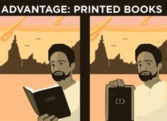 """The Great E-Books Vs. Print Debate  - Great article, short and we'll worth the time  """"BOOKS"""""""