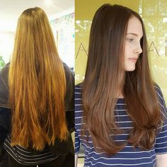 From drab to fab! Personalised couture colour gloss using Wella colour touch series. Fresh cut & layered style.   @wellapro @lovekevinmurphy   #theradicalhairdesign #hairbygemmabandiera