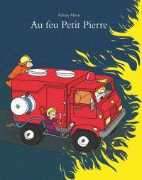 Ce livre au sujet imparable propose, comme il se doit, un camion de pompier rutilant et un incendie flamboyant. Mais le récit est légèrement décalé et on y trouve aussi un orang-outan travailleur, une grand-mère en danger et un poisson rouge appelé Bubulle qui échappera aux flammes. Le récit dynamique décrit un petit Pierre courageux et inventif, un petit garçon dont les parents peuvent être fiers.