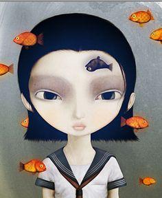 school girl - david ho