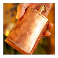 The coolest flask...  Great American Flask, Jacob Bromwell.