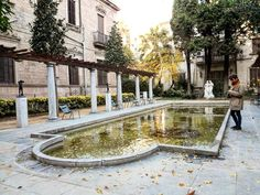Jardi de Can Fabra. Sarrià-Sant Gervasi. Barcelona. #fundaciojuliomuñozramonet #citygarden #garden #publicgarden #park #landscaping #landscape #arquitecture #photography #source #man #wanderlust #instaguy #igers #igers #rural #city #picoftheday #canfabra #barcelona #bcn #catalonia #spain