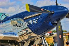 While airborne action shots of aircraft such as a P-51 Mustang are epic, a static ground image is very revealing in its own right. Here is Crazy Horse 2 at rest showing awesome detail and reflections.