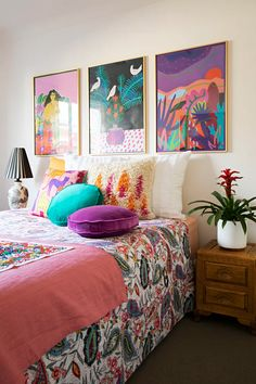 Vintage Maximalist Bohemian Australia Home Tour | Apartment Therapy