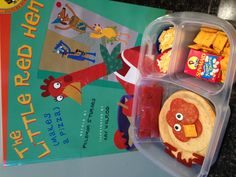 The Little Red Hen Makes Pizza... I just thought this was too stinkin' cute!