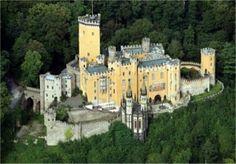 Castle Stolzenfels ~ Koblenz ~ Rhineland Palatinate ~ Germany
