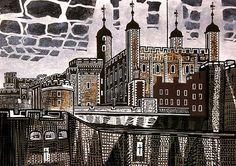 The Tower of London (1967) – Edward Bawden (British, 1903–89)
